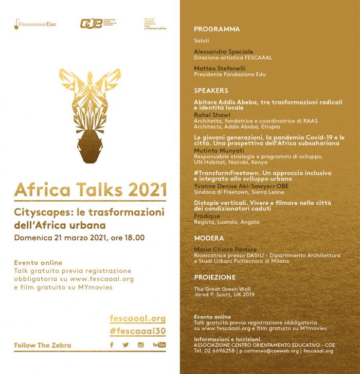africa talks 2021
